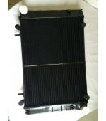 Радиатор охлаждения Газель, Соболь 406 405 409 Евро-3 дв. 2-х рядный (штыри) медный Иран