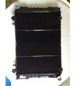 Радиатор охлаждения Газель, Соболь 406 405 409 Евро-3 дв. 2-х рядный (штыри) медный Оренбург