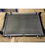 Радиатор охлаждения Газель, Соболь 406 405 409 Евро-3 дв. 3-х рядный (штыри) алюминиевый Иран